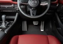 Aluminiowe nakładki na pedały  do pojazdów wyposażonych w automatyczną skrzynię biegów BCWLV9090