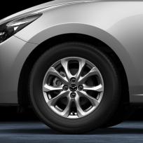 """Felga aluminiowa 15"""" wzór 153 9965375550CN, Mazda 2 DJ1, 2 DJ1 (2020)"""