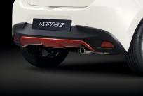 Osłona pod zderzak tylny DA6CV330062, Mazda2 DJ1