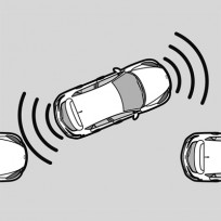 Czujniki parkowania zestaw na przód lub tył C860V7285C