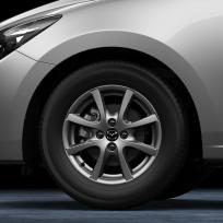 Felga aluminiowa 15 wzór 65 DC3LV3810, Mazda 2 DJ1, 2 DJ1 (2020)