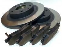 Zestaw tarcz oraz klocków hamulcowych na oś tylną Mazda 6 Diesel/Benzyna
