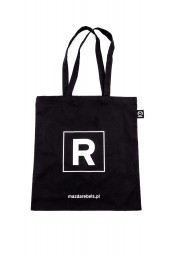 Czarna torba bawełniana Mazda REBELS (1 szt.) 2249MO