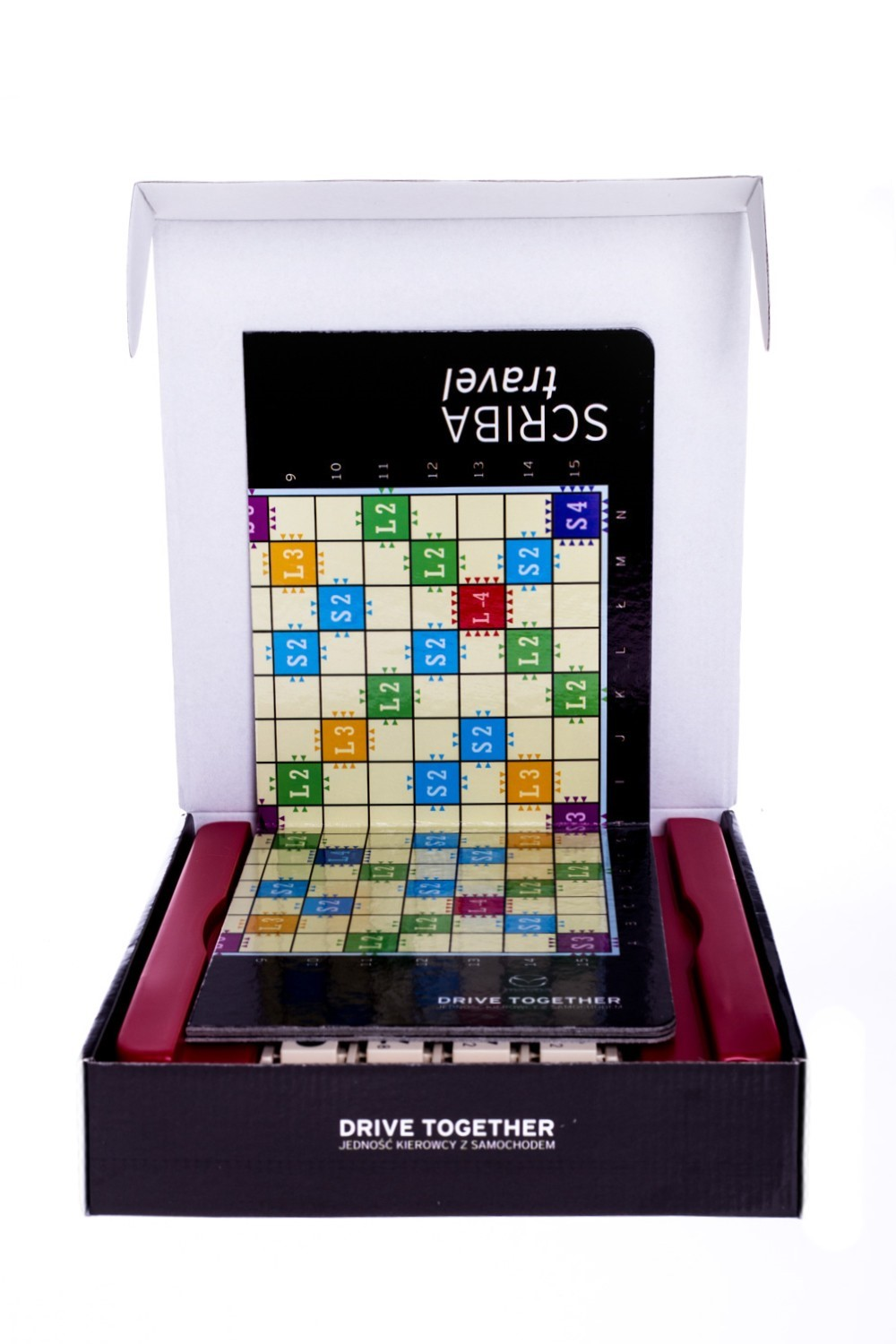 Scrable Travel Drive Together 2106AMO #3